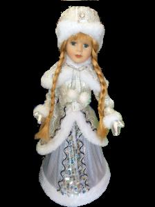 снегурка бело-золотиста